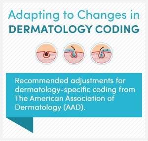 Adapting to Changes in Dermatology Coding