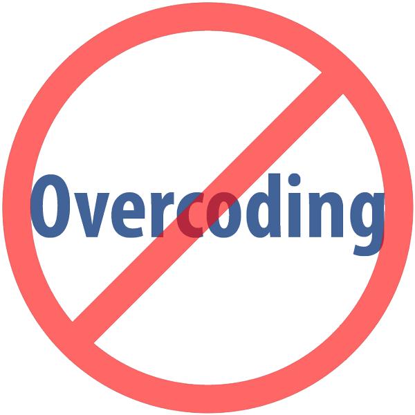 Overcoding