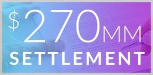 270MM settlement