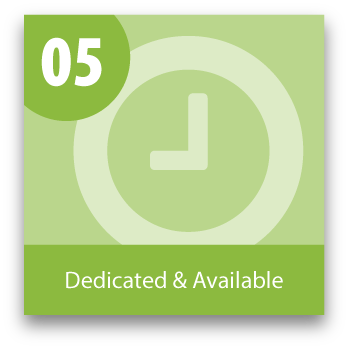 The top 10 Reasons to Outsource your Medical Coding: Reason 5 of 10 Dedicated & Available